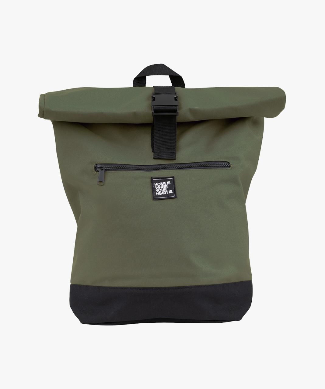 Roll-Top Laptop Rucksack