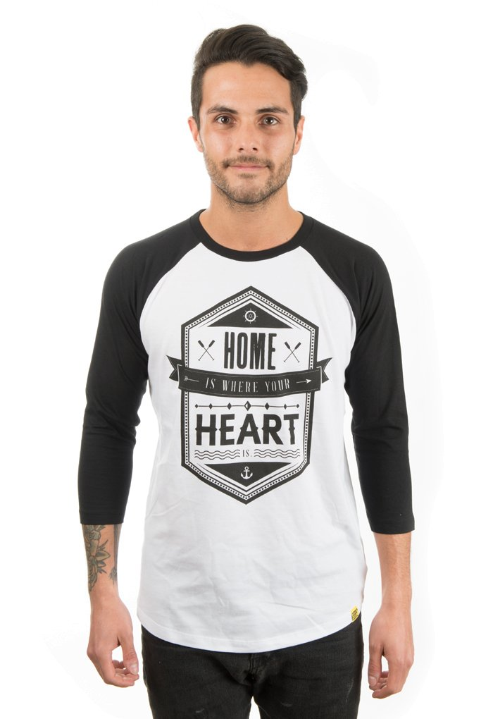 Here And Now Baseball Shirt