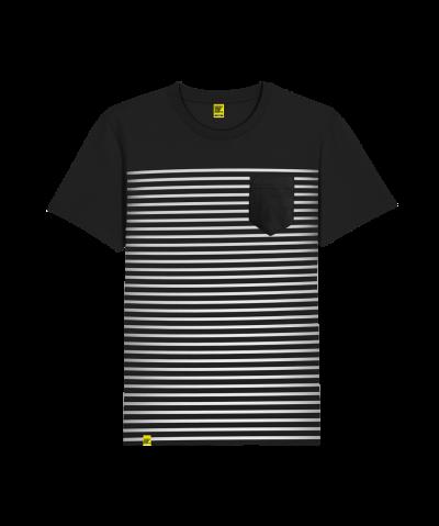 Stripes Pocket T-Shirt