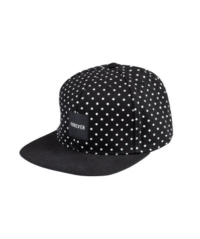 Polka Dots Snapback Cap