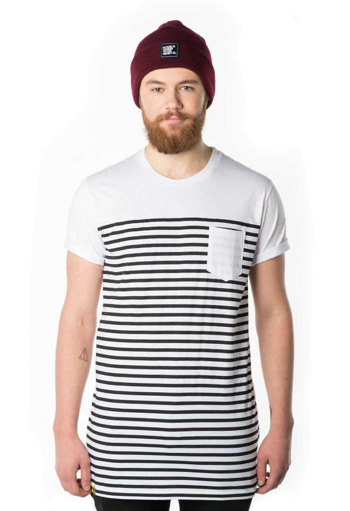 Stripes Pocket T-Shirt