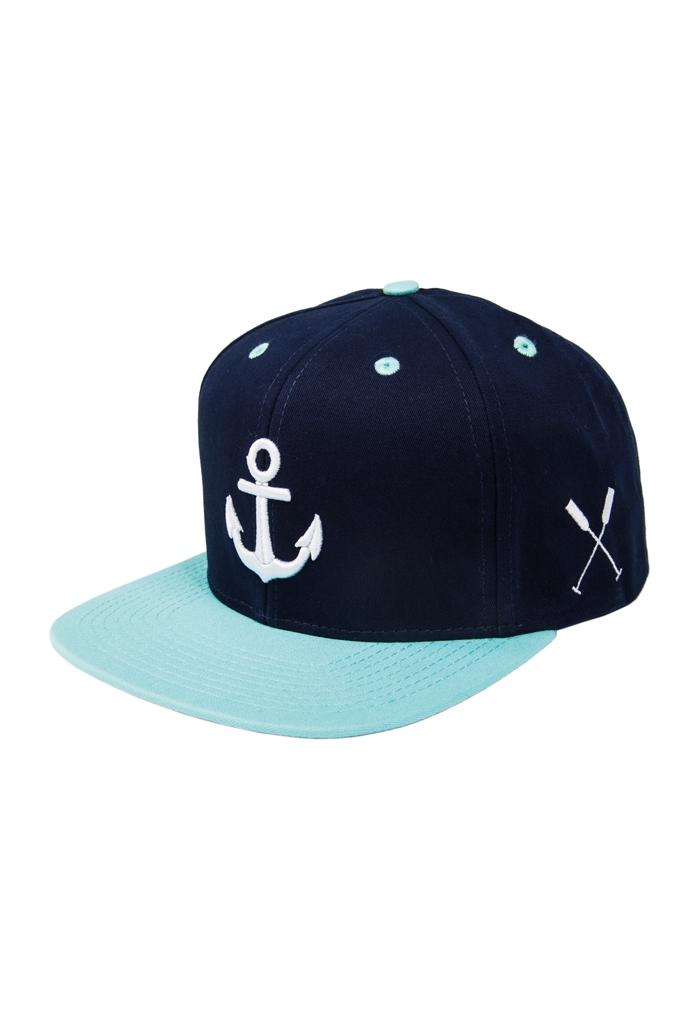 Anchor Snapback Cap