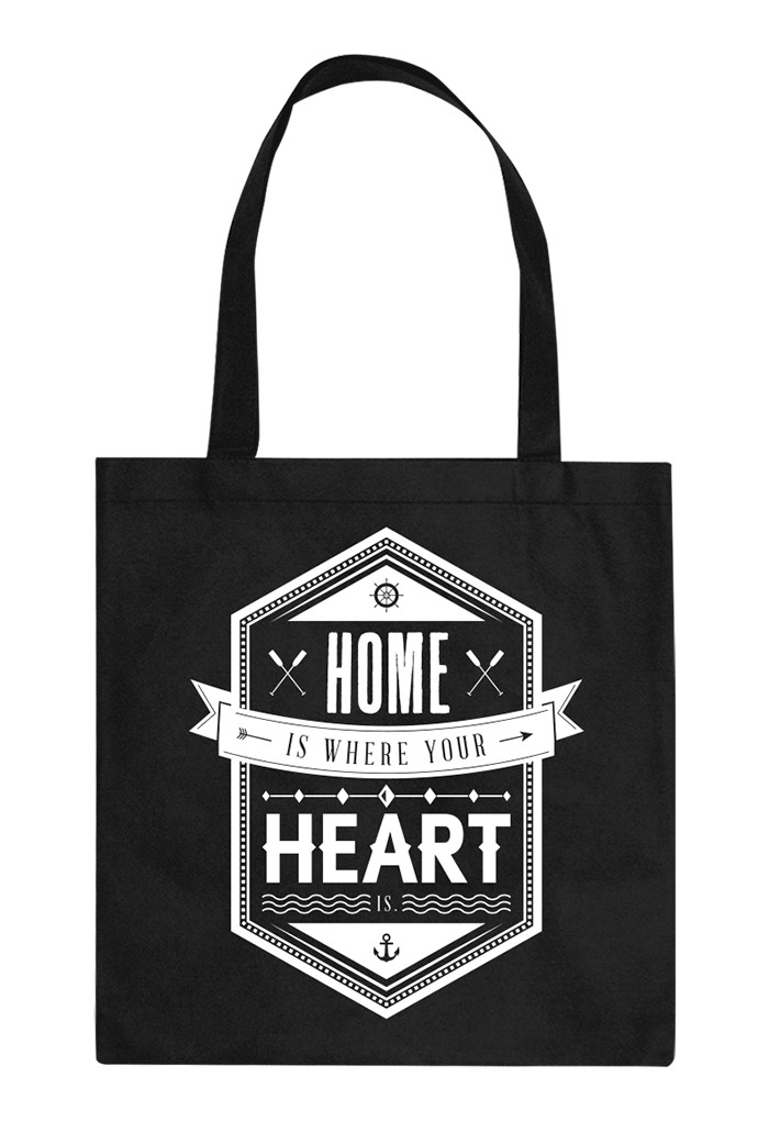 Here And Now Shopping Bag