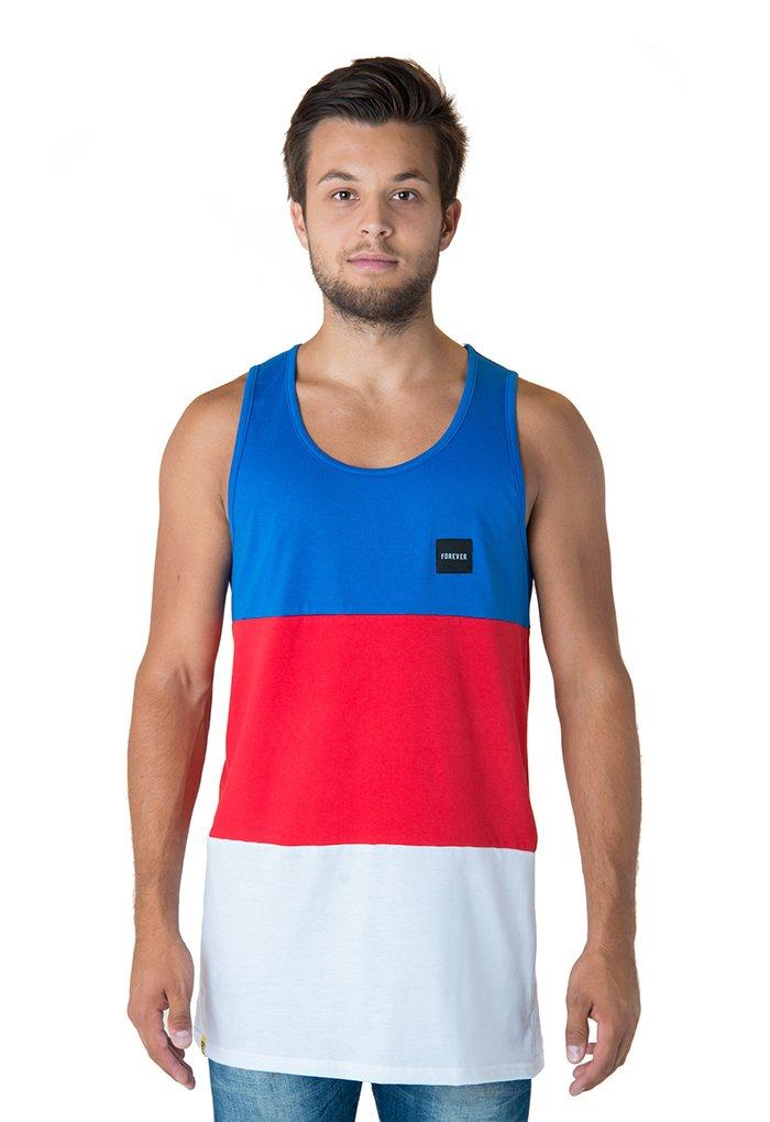Tricolor Tank Top