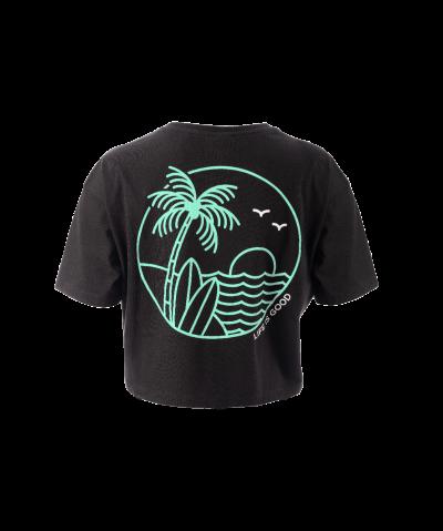 Palms Women's Cropped T-Shirt
